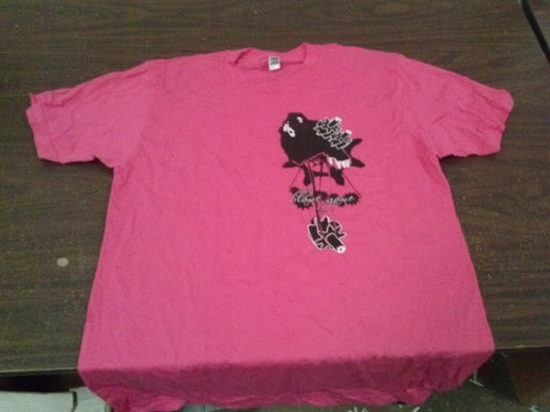 Blame Game - Pink - X Large T-Shirt