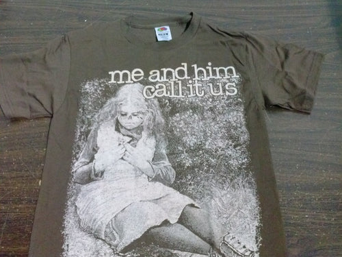 Me And Him Call It Us - Brown - Youth Medium T-shirt