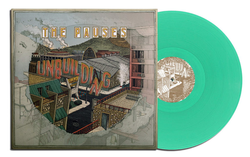 The Pauses - Unbuilding lp PREORDER