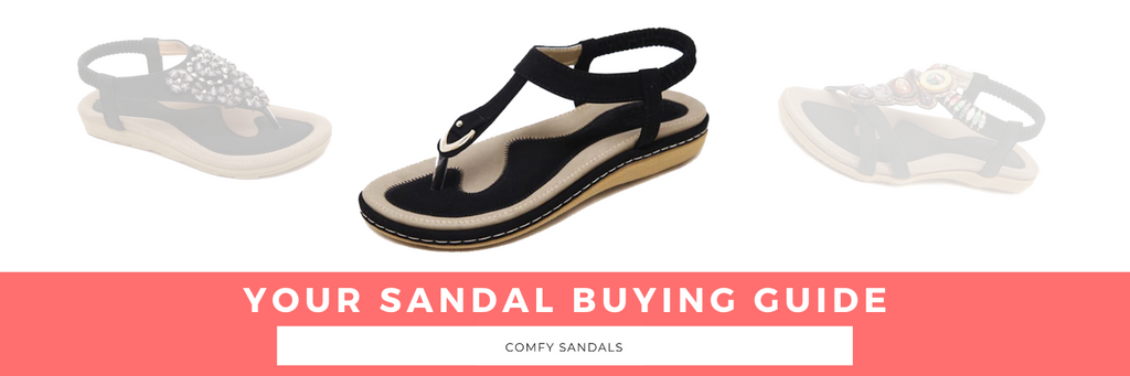 Your Sandal Shopping Guide