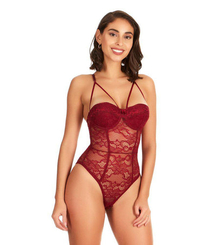 Lacey Dreams Caged Bodysuit