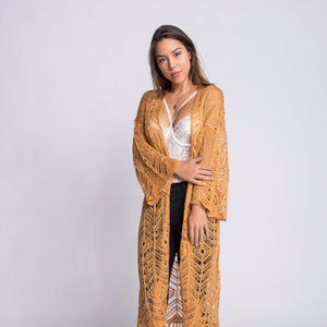 Camilla Knit Bell Sleeve Duster