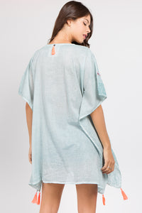 Zinnia Beach Cover Up
