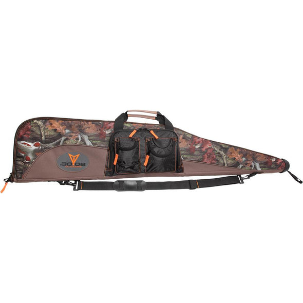 3006 DELUXE IRON SOFT GUN CASE BUCKCAMO 46 IN.