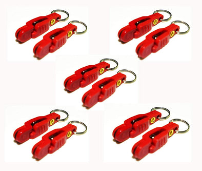 Bulk Snap Weight Red Clips