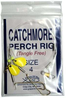 Catchmore Perch Rig Chartreuse
