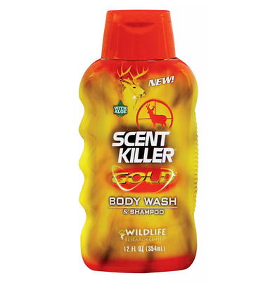 Wildlife Research Scent Killer Gold Body Wash & Shampoo