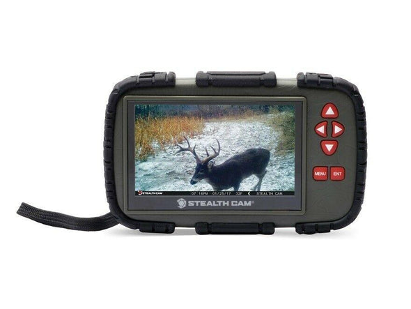 "Stealth Cam SD Card Reader/Viewer w/ 4.3"" LCD Touch Screen"
