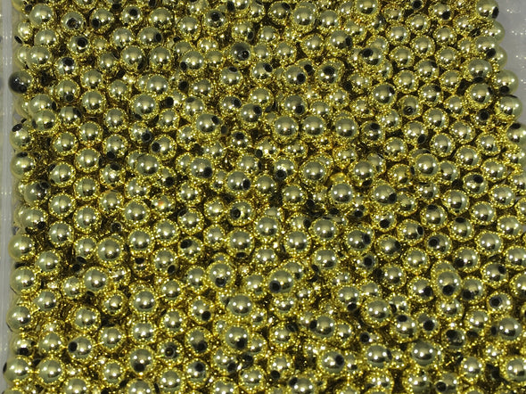 Metallic Gold Beads