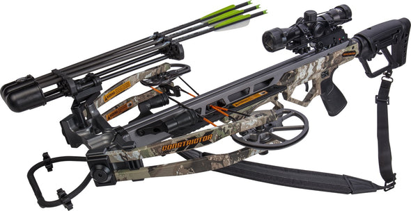 Bear X Constrictor Crossbow Package, Veil Stroke Camo