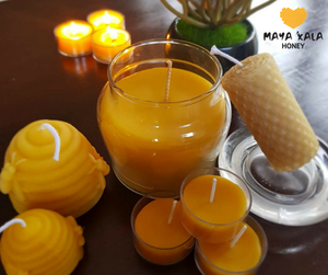 100% Beeswax Candle Value Pack