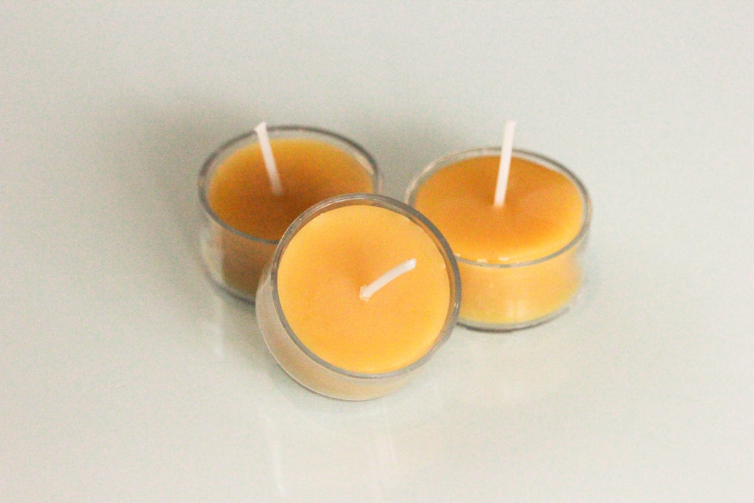 Tea light Beeswax Candles - sold separately (each)