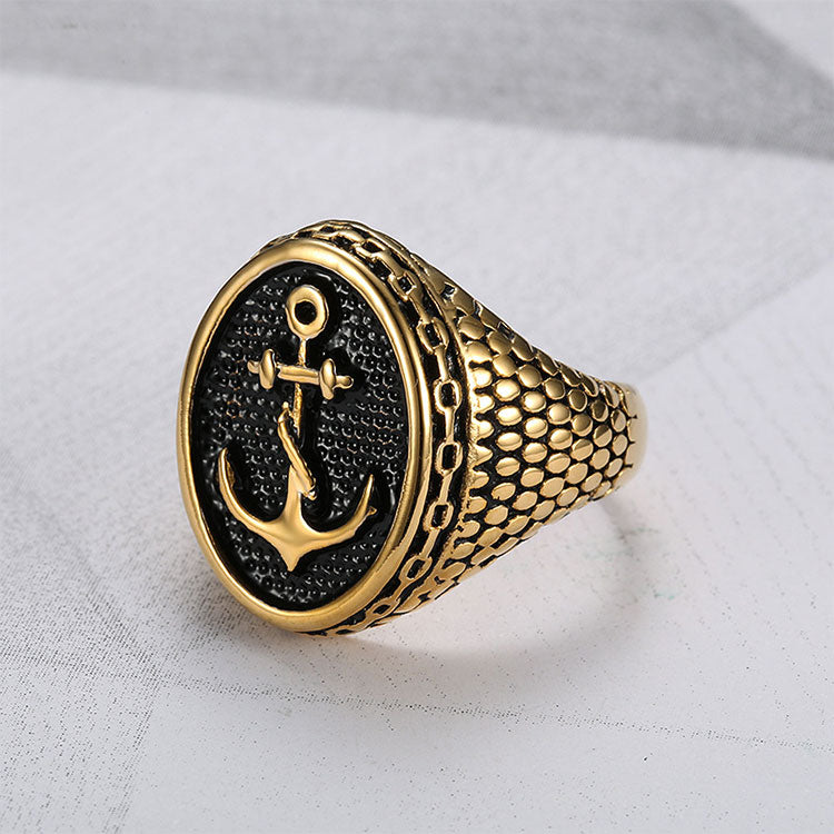 Stainless Steel Snake-body Anchor Ring