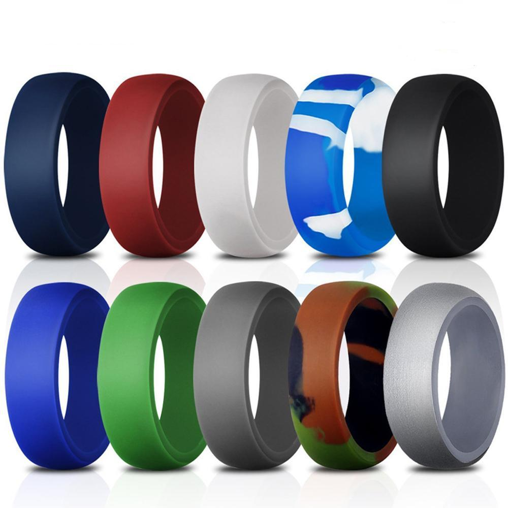 10 Pcs Set - Silicone Wedding Band Replacement