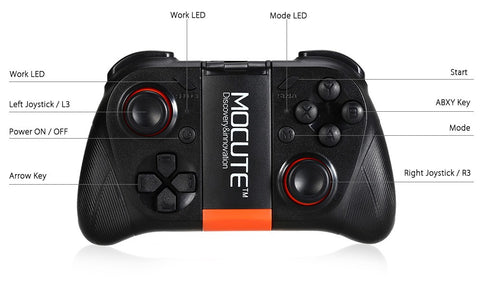 MOCUTE™ BLUETOOTH GAMING CONTROLLER FOR iOS, ANDROID & TV BOX