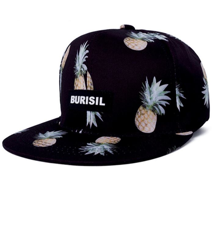 Black Pineapple Snapback – Hazy Hues bb9951f1ad2