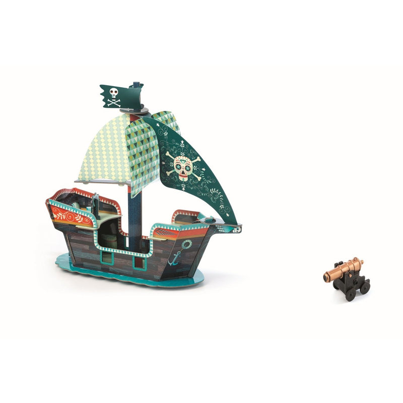 Pop to play: Piratenschiff 3D von DJECO