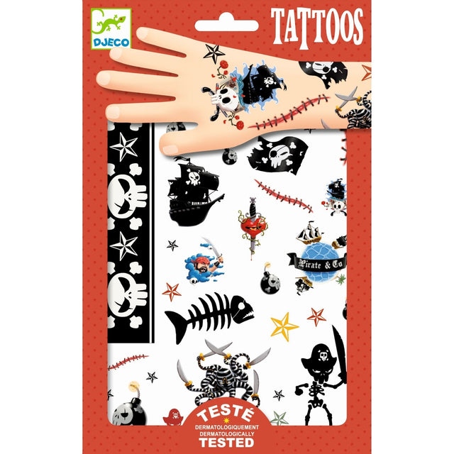 Tattoos: Piraten von DJECO