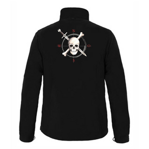 Piratenwindrose Fleecejacke
