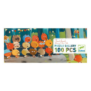 Kinderpuzzle Puzzle Gallery FOREST FRIENDS, 100 Teile