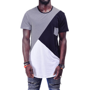 Striped Mens T-Shirt 3591