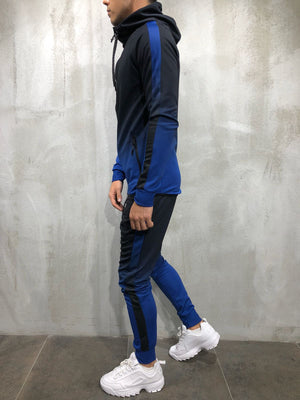 Hooded Tracksuit Dip Dye Wash 4329