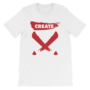 The Create! White & Red Tee