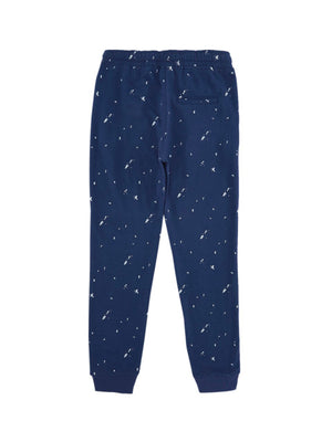 Poppers by Pantaloons Boys Blue Printed Joggers