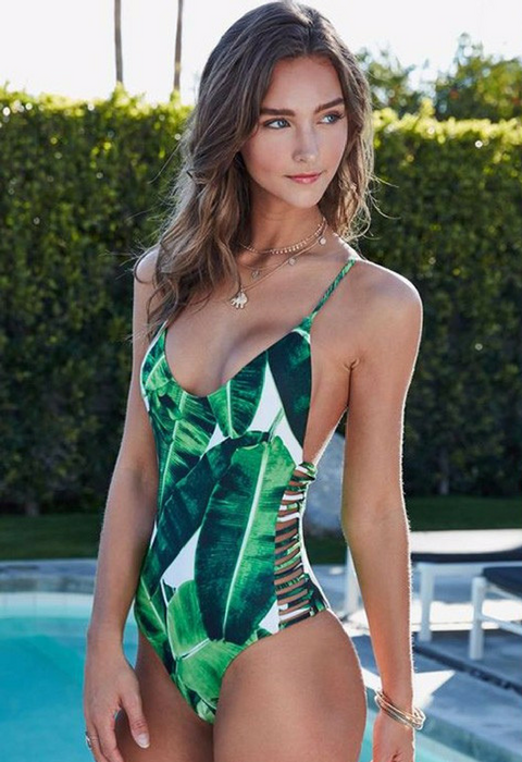 Sexy One Piece Swimsuit - Summer Beach Bathing Swimsuit - cuteandfashions
