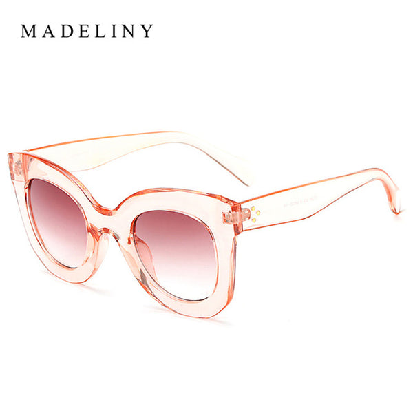 MAVintage Gradient Cat Eye Sun Glasses - cuteandfashions