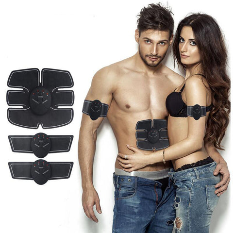 Electro Muscle Stimulator Body Slimmer Massage Muscle Toner Fitness Training Medical Health Products