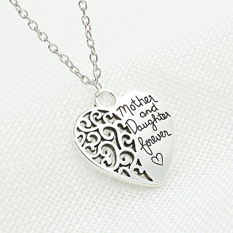 Mother And Daughter Love Forever Necklace