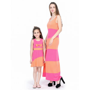 Sundress Summer Sleeveless Family Look Outfits
