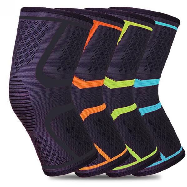 1 Pcs Knee Support Protect Fitness Running Cycling Braces Kneepad Elastic Nylon Sport Gym Knee Pad Warm Sleeve