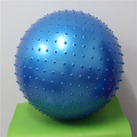 Genuine thicken 55cm Pvc Barbed Exercise Slim Fitness Massage Yoga Ball Trigger Point Yoga Fitness Ball Pilates Ball