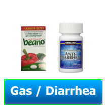 Gas / Diarrhea