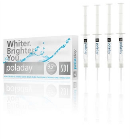 Pola Day 9.5% Teeth Whitening Bleaching Gel 4 Pack