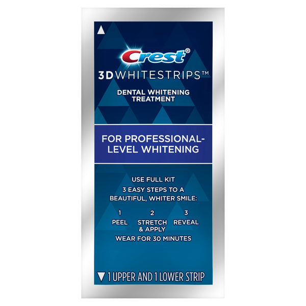 NEW Crest Professional Express 3D Whitestrips (Medium)