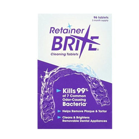 Retainer Brite Retainer Invisalign Denture Tray Cleaner