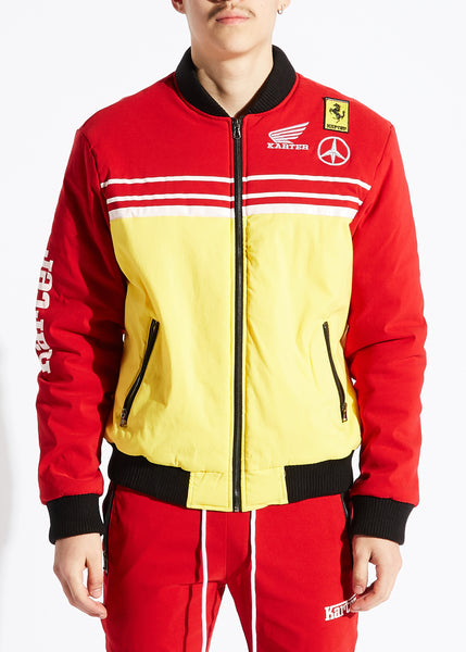 Andretti Jacket (Red / Yellow)