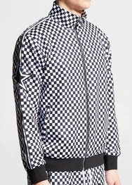 Nyquist Track Jacket (Checkers)