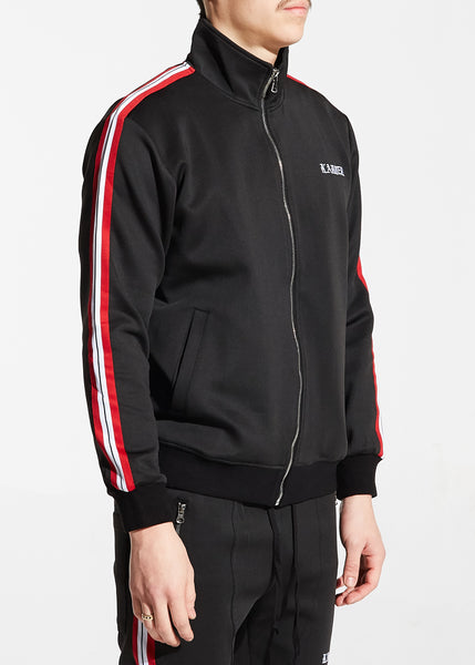 Ramsey Track Jacket (Black)