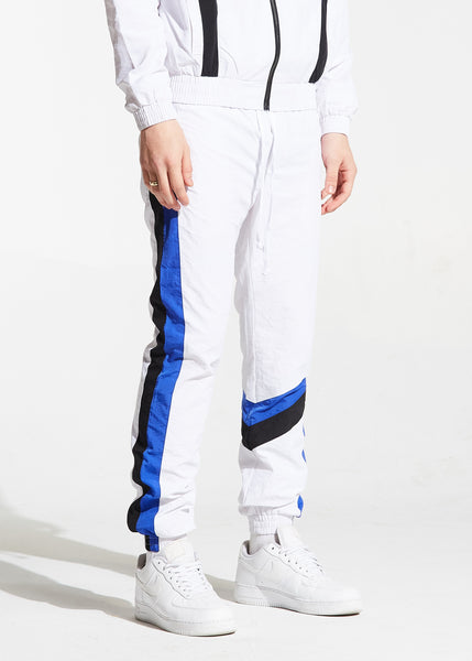 Shelton Windbreaker Pants (White)