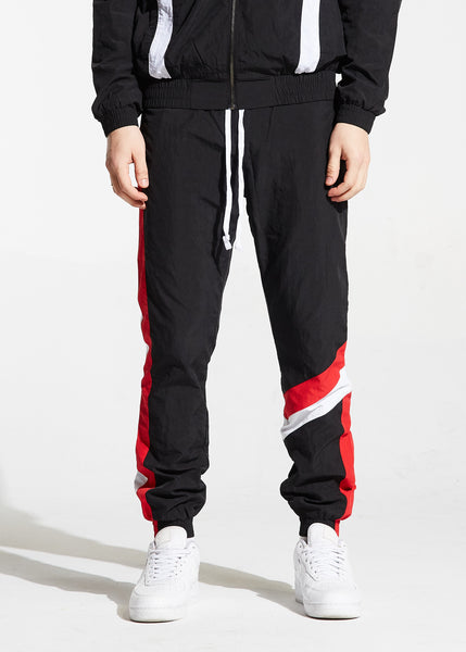 Shelton Windbreaker Pants (Black)