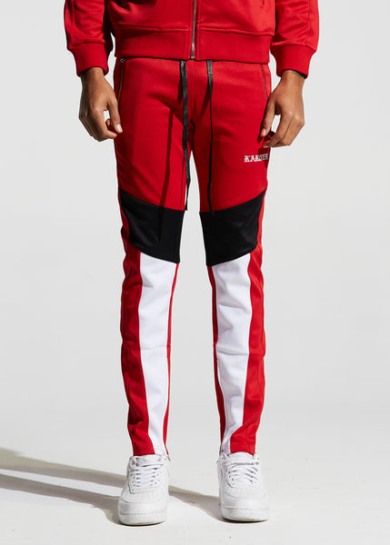 Manzo Track Pants (Red)