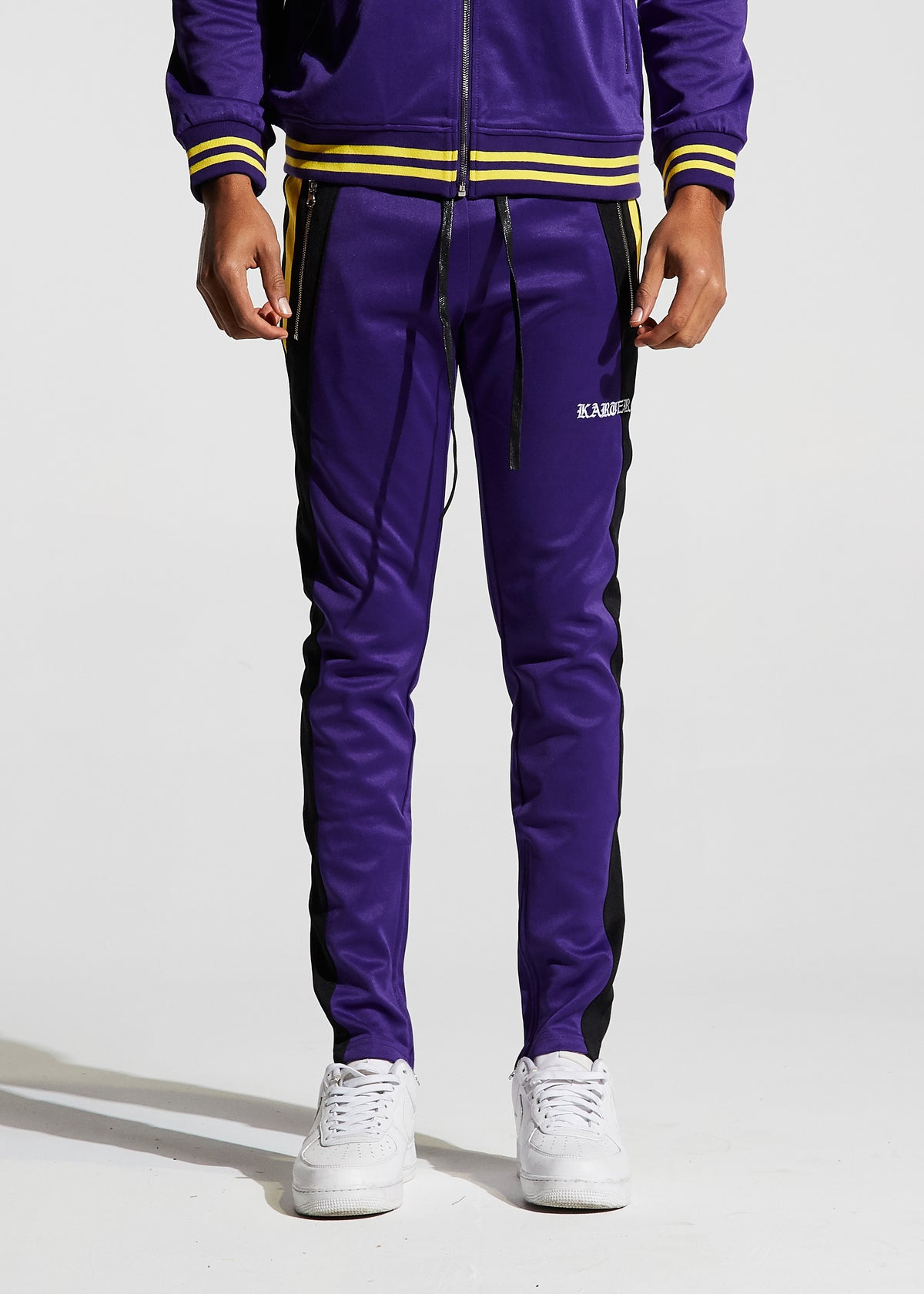 Roosevelt Track Pants (Purple)