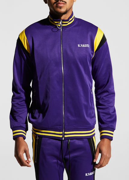 Roosevelt Track Jacket (Purple)