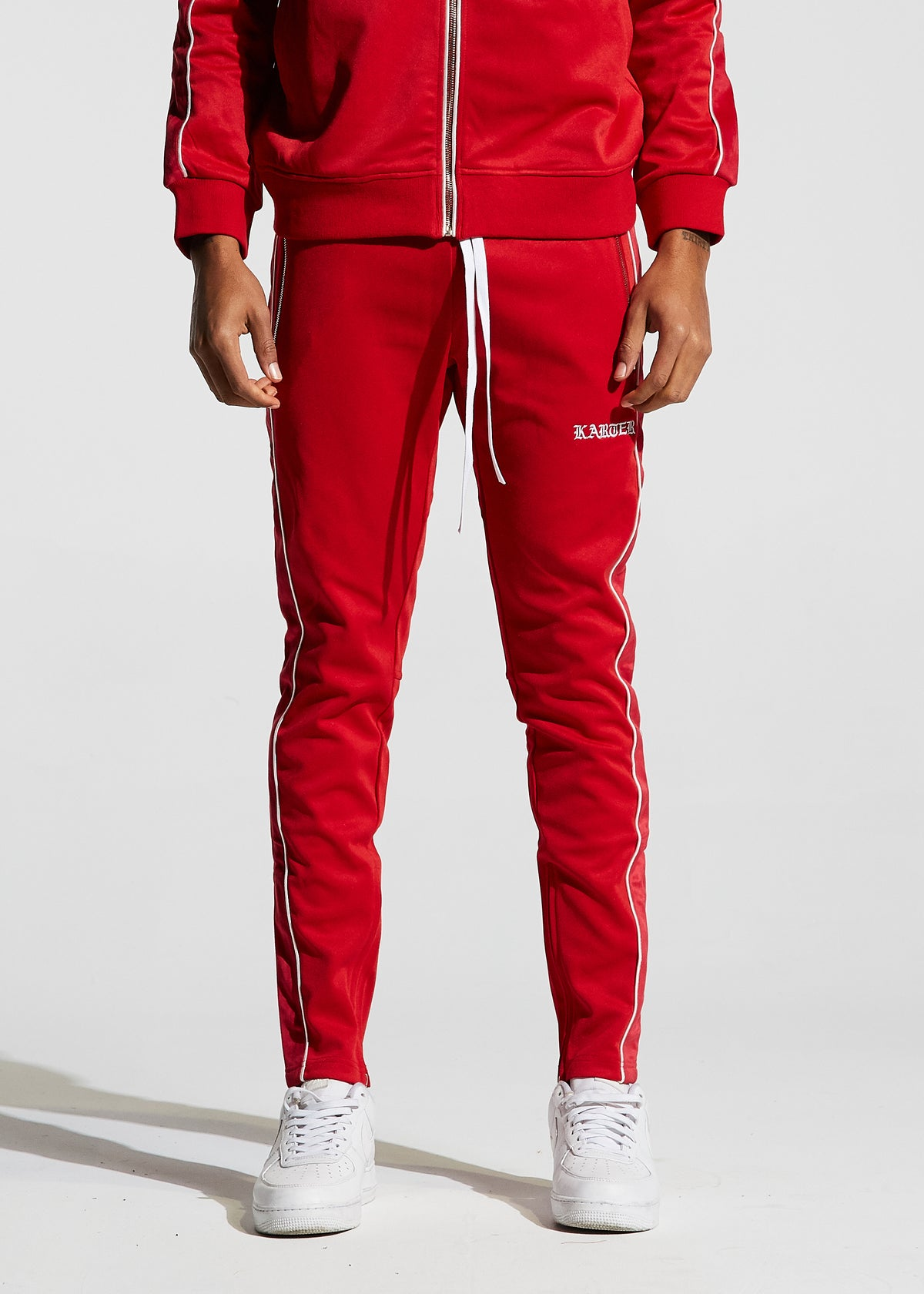 Galliano Track Pants (Red)