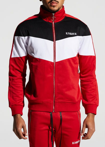 Manzo Track Jacket (Red)