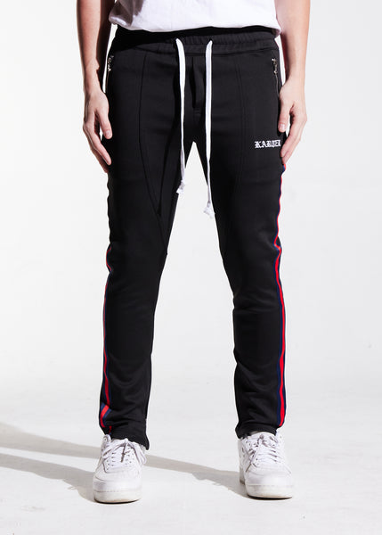 Rivers Track Pants (Black)